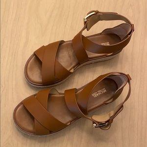 Michael Kors platforms sandals